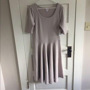 NWT Lularoe Nicole Dress Short Sleeves Women's XL